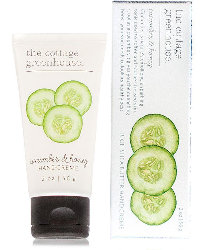 The Cottage Greenhouse - Cucumber & Honey Handcreme, 2-oz.