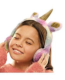 FAO Schwarz for Kids Headphones Plush Unicorn