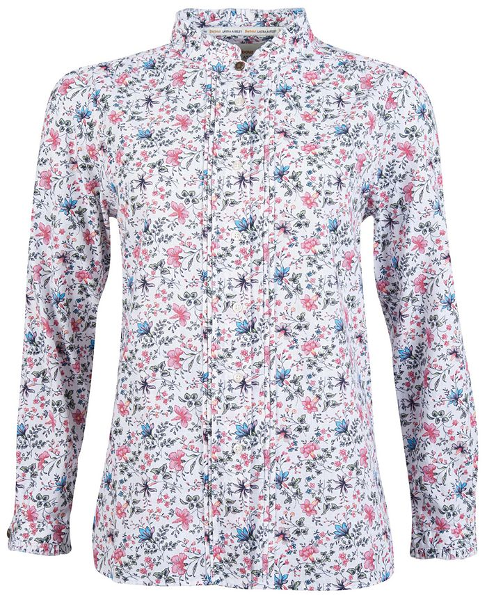 Barbour - Yews Floral-Print Button-Down Shirt