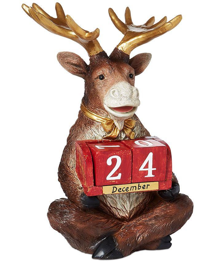 Holiday Lane - Christmas Cheer Countdown Reindeer