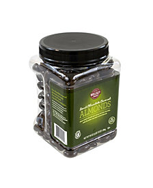 Lyndon Reede Dark Chocolate-Covered Almonds, 45 oz