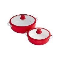 IMUSA 2-Pc. Red Ceramic Caldero Set Deals