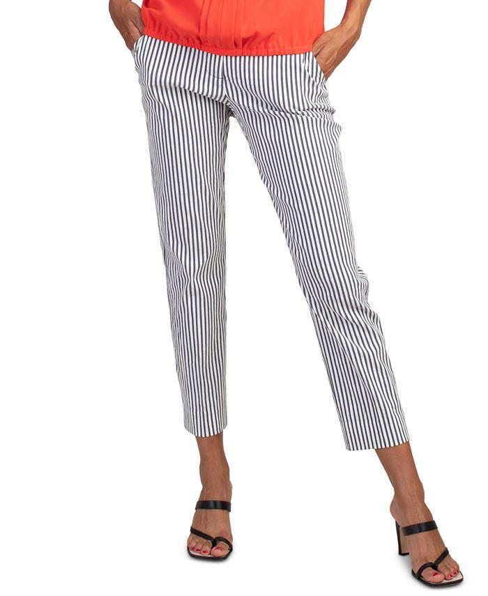 Trina Turk - Moss Striped Cropped Pants