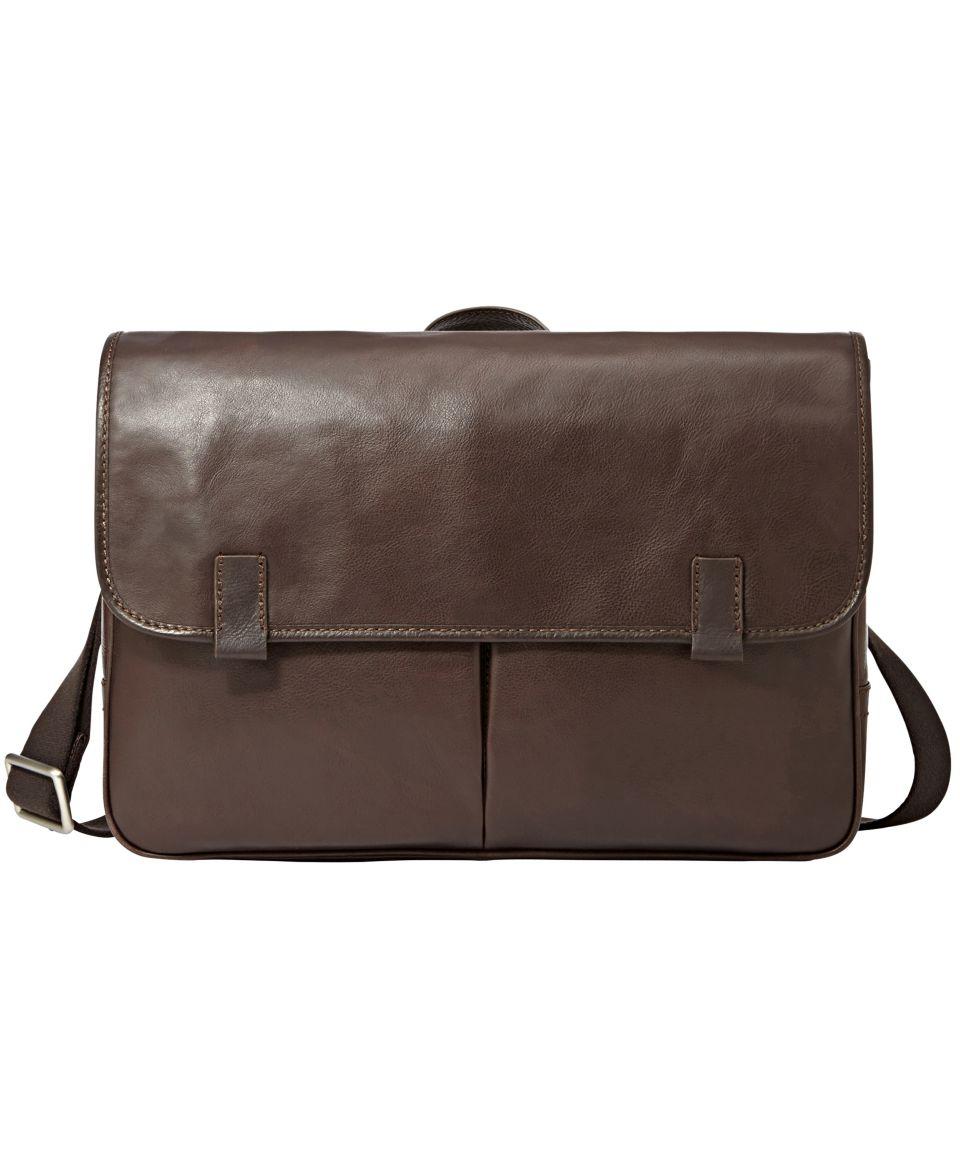 Kenneth Cole Reaction Colombian Leather Single Gusset Messenger Bag   Backpacks & Messenger Bags   luggage