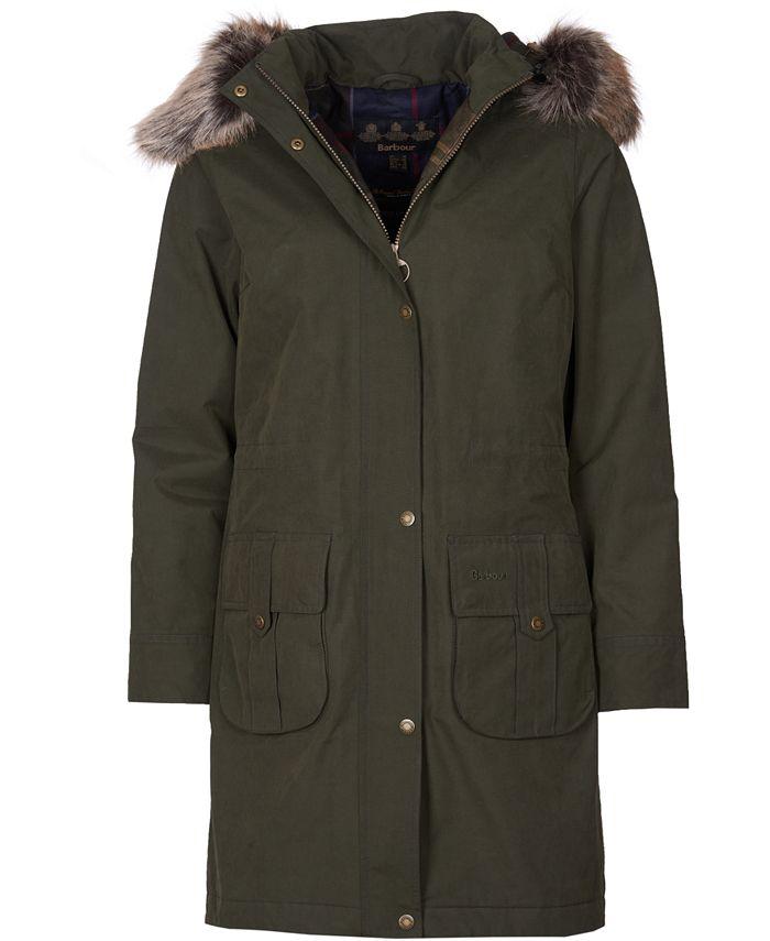 Barbour - Lynn Waterproof Hooded Parka Coat