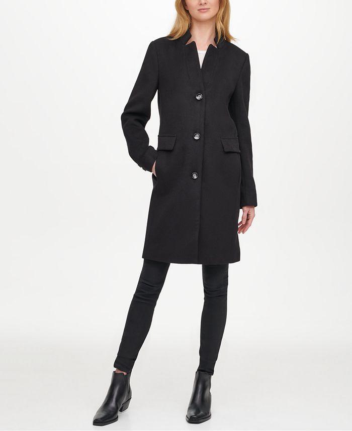 DKNY - Single-Breasted Reefer Coat