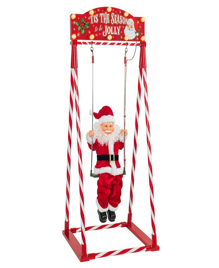 Mr. Christmas - Animated Swinging Santa from .