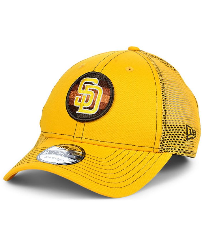 New Era - San Diego Padres Logo Fill Trucker 9FORTY Cap