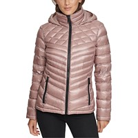 Calvin Klein Women's Shine Hooded Packable Down Puffer Coat (various colors/sizes)