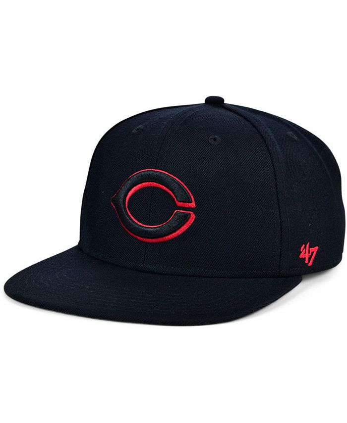 '47 Brand - Cincinnati Reds Bright Red Shot Snapback Cap