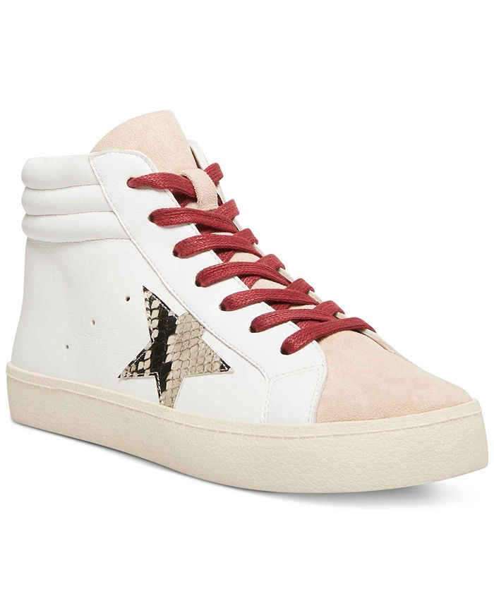 Madden Girl - Lula Lace-Up High-Top Sneakers