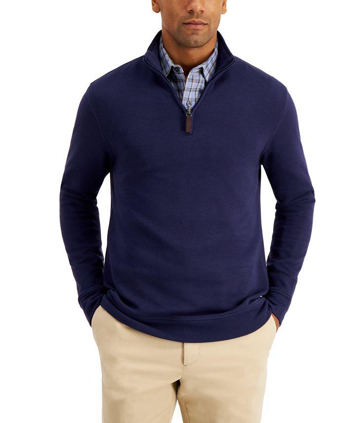 Tasso Elba - Men's Quarter-Zip Sweater