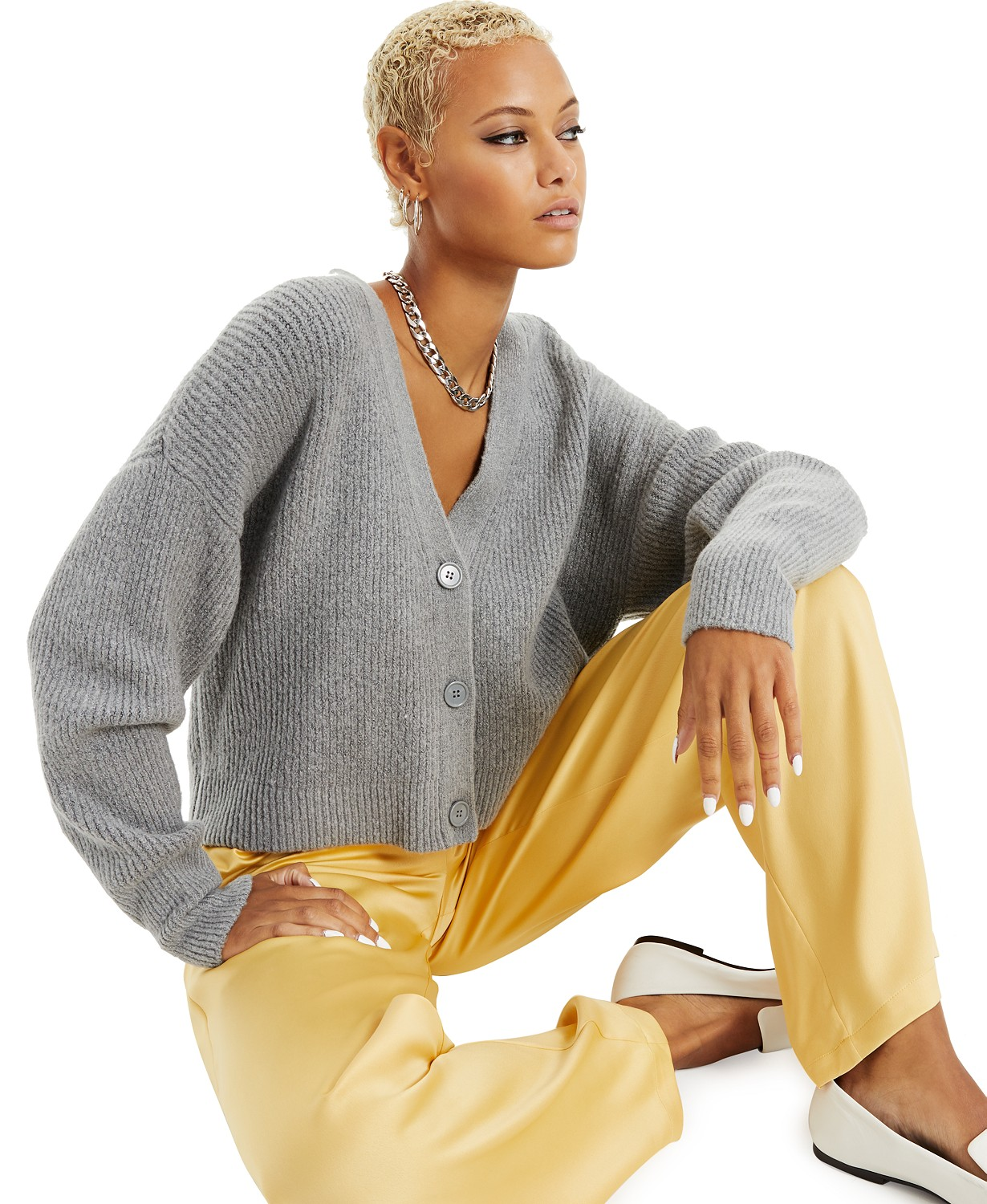 Danielle Bernstein Button-Front Cardigan, Created for Macy's