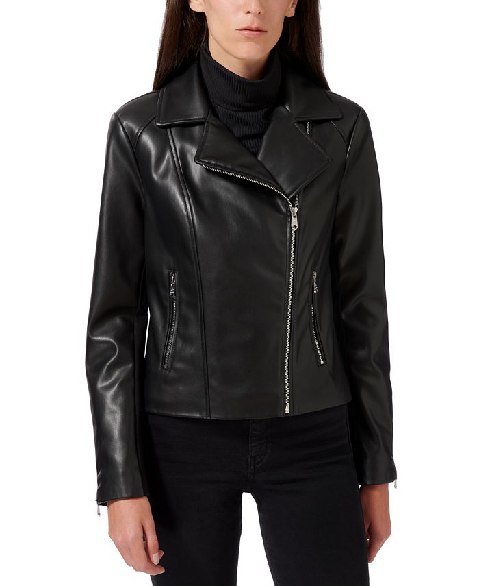 Sam Edelman - Faux-Leather Moto Jacket
