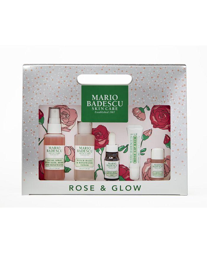 Mario Badescu - 5-Pc. Rose & Glow Set