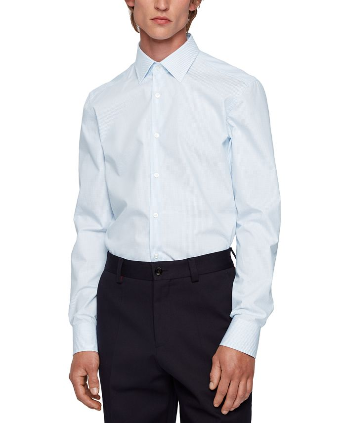 Hugo Boss - Men's Jango Slim-Fit Shirt