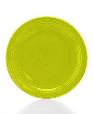 """Fiesta Lemongrass 10.5"""" Dinner Plate"""