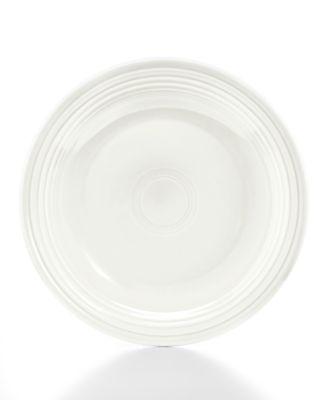 "Fiesta 7.25"" White Salad Plate"