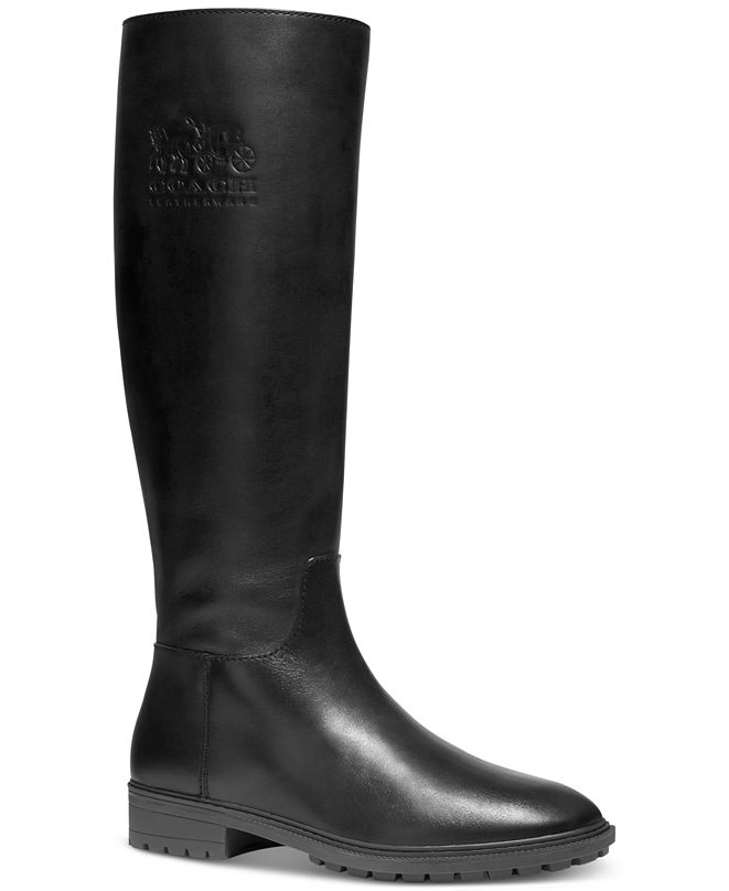 COACH Women's Fynn Tall Riding Boots
