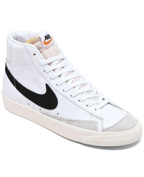 Nike Women's Blazer Mid 77's High Top Casual Sneakers ...