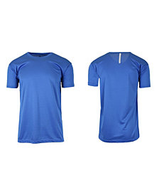 Galaxy By Harvic Men's Short Sleeve Moisture-Wicking Quick Dry Performance Tee