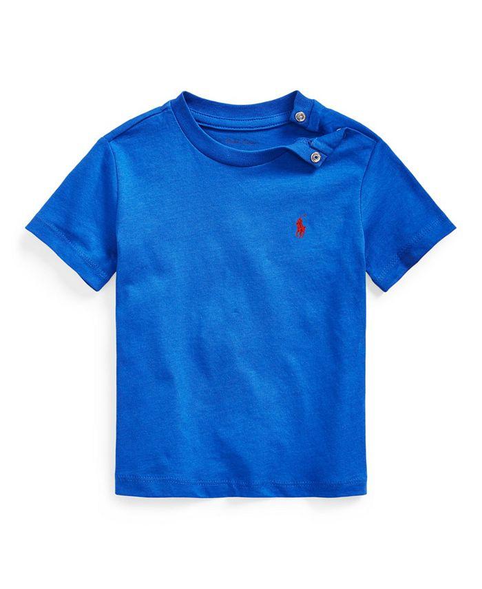 Polo Ralph Lauren - Baby Boy Cotton Jersey Crewneck T-Shirt