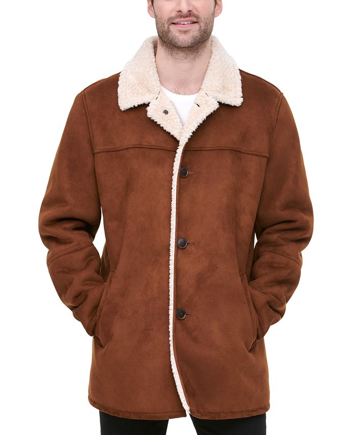 Tommy Hilfiger - Men's Classic-Fit Faux-Shearling Rancher Jacket