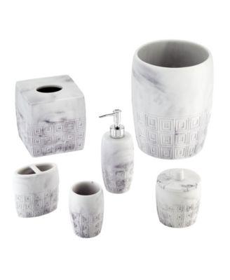 Halston Marble Covered Jar