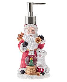 Décor Studio Santa with Snow Globe Holiday Lotion Pump