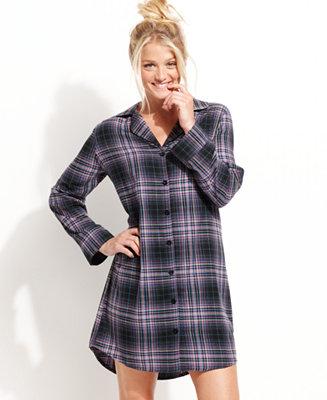Jenni Flannel Sleepshirt Lingerie Women Macy S