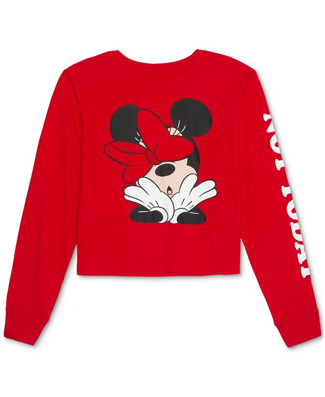 Disney Juniors' Minnie Not Today Long-Sleeve T-Shirt