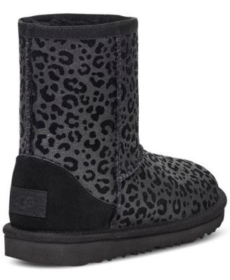 UGG® Kids Classic Glitter Leopard Boots