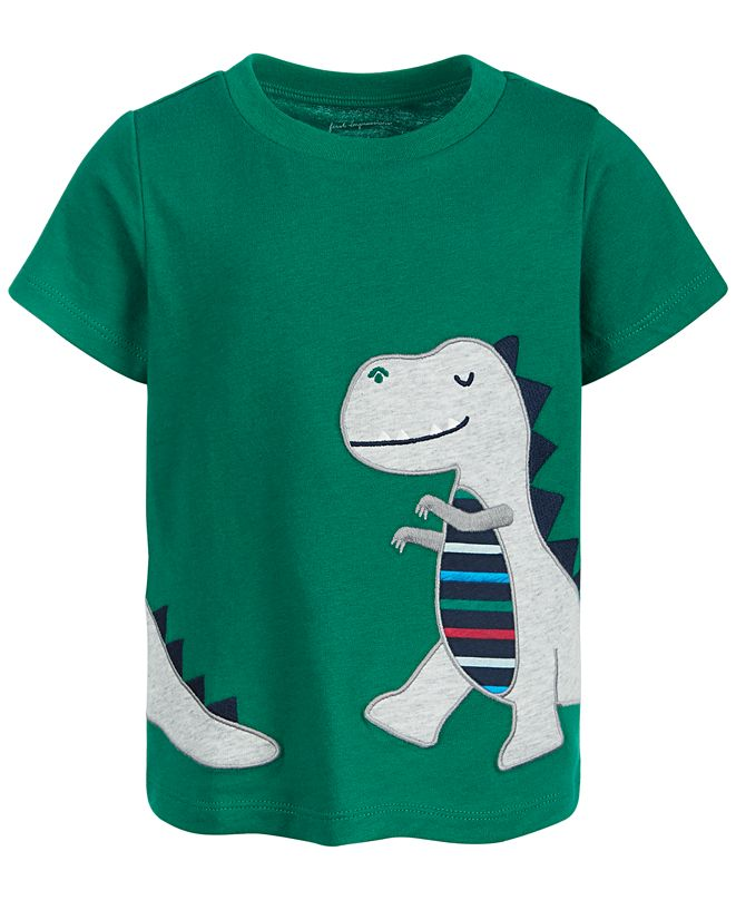 First Impressions Baby Boys T-Rex Cotton T-Shirt, Created for Macy's