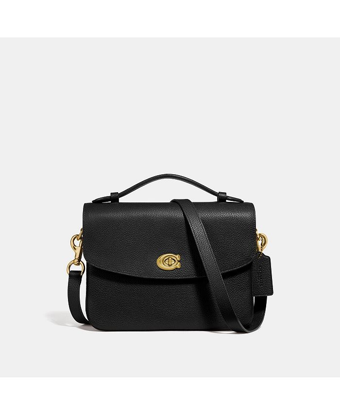 COACH - Cassie Crossbody In Polished Pebble Leather