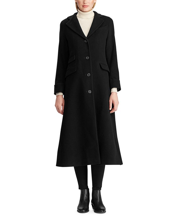 Lauren Ralph Lauren - Wool-Cashmere Trench Coat