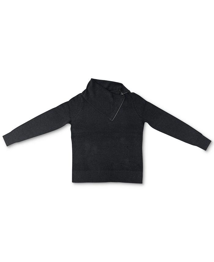 Karen Scott - Cotton Cowl-Neck Sweater