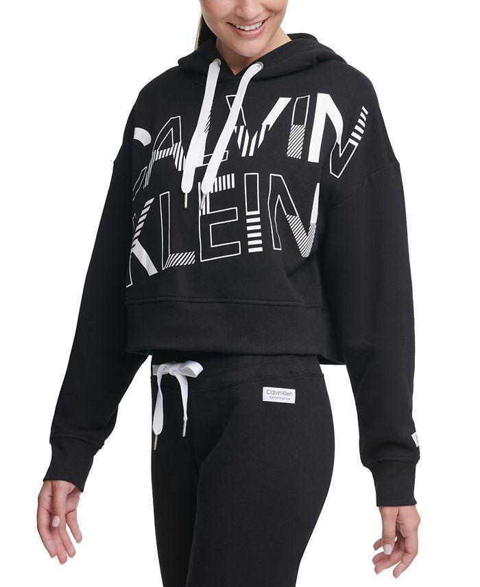 Calvin Klein - Logo-Graphic Fleece Hoodie