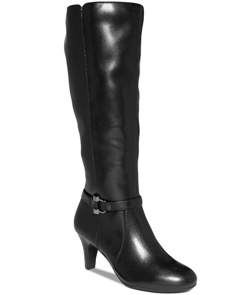eca1a1f930bc Karen Scott Hadley Wide Calf Tall Boots Shoes on PopScreen