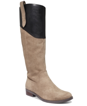 Tommy Hilfiger Devlin Tall Shaft Boots Womens Shoes