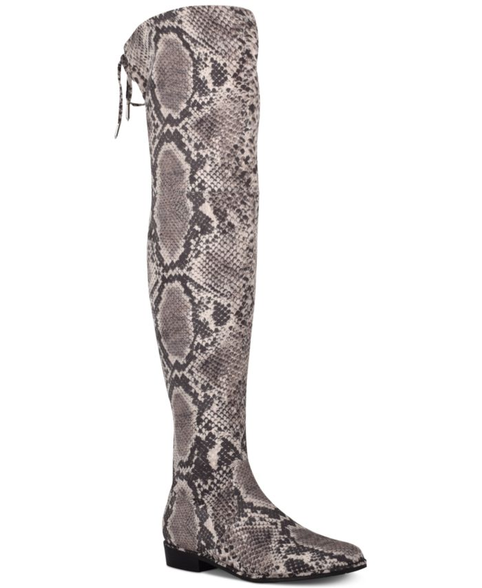 Marc Fisher Humor Over-The-Knee Boots, Created for Macy's & Reviews - Boots - Shoes - Macy's