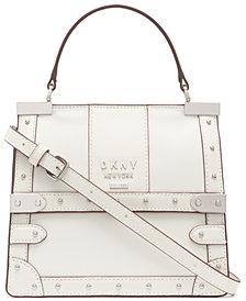 DKNY Louise Leather Satchel