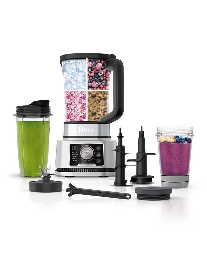 """Ninja - """"® Foodi® Power Blender & Processor System with Smoothie Bowl Maker and Nutrient Extractor* + 4in1 Blender 1400WP """""""