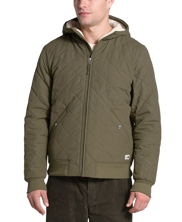 The North Face Men's Cuchillo Quilted Fleece-Lined Hooded Jacket