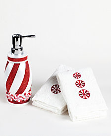 Mistletoe Farms Peppermint 3-Pc. Bath Counter Set