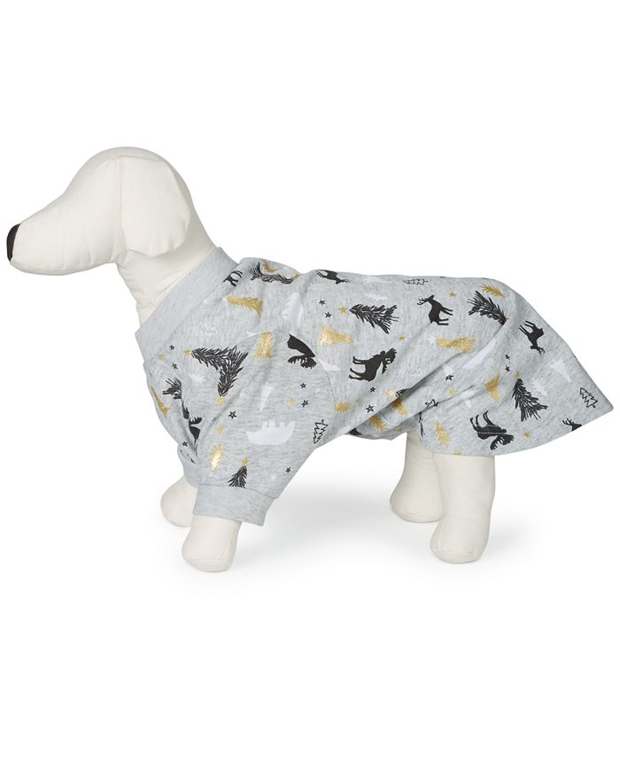 Family Pajamas - Tree-Print Pet Pajamas