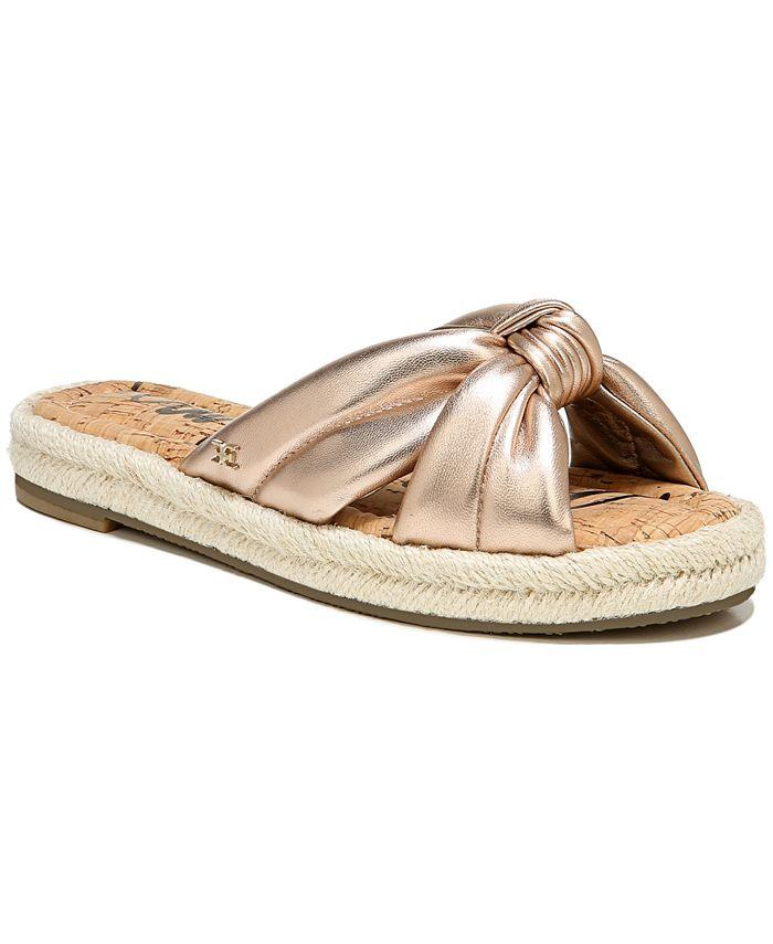Sam Edelman - Women's Abbene Knotted Slide Sandals