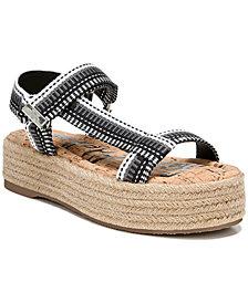Sam Edelman Women's Artica Banded Platform Esapadrille Sandals