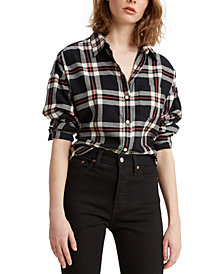 Levi's® Cotton Relaxed Flannel Shirt