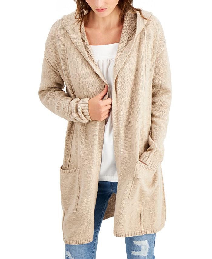 Style & Co - Hooded Cardigan
