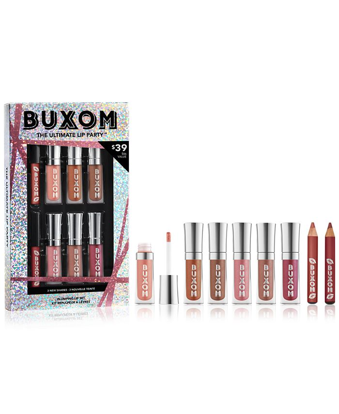 Buxom Cosmetics - 8-Pc. The Ultimate Lip Party Plumping Lip Set